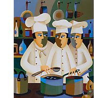 THE APPRENTICE CHEFS Photographic Print