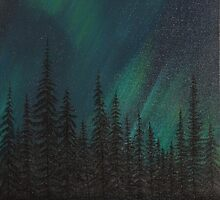 Night Life by Lisa  Lukan