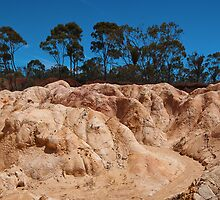 Pink Cliffs by louise