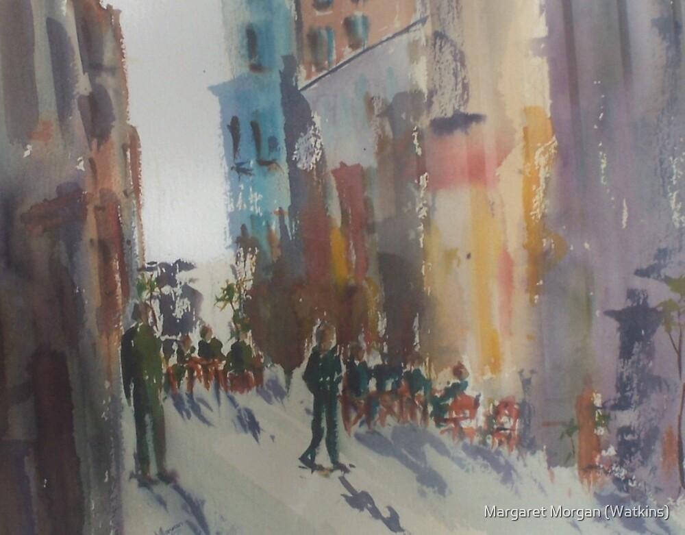 Hardware Lane, Melbourne, Victoria, Australia by Margaret Morgan (Watkins)