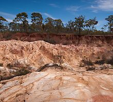 Pink Cliffs #2 by louise