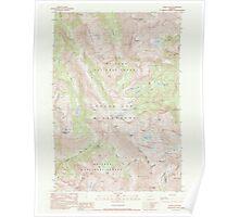 USGS Topo Map Oregon Eagle Cap 279743 1990 24000 Poster