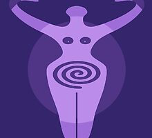 The Goddess - Digital Art by avalonmedia
