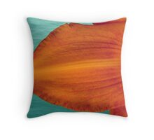 Caribbean Lily Throw Pillow