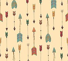 Bohemian hand drawn arrows by BlueLela