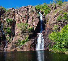 Wangi Falls, Litchfield National Park by Ian Fegent
