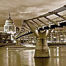 Saint Paul Sepia by Philip Cozzolino