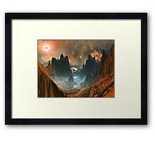 Standing Stones - Illorium Valley Framed Print