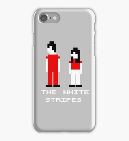 The White Stripes Pixel. iPhone Case/Skin