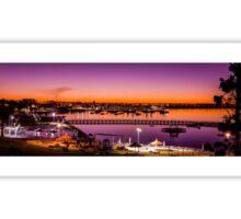 Geelong Eastern Beach Sunset Sticker