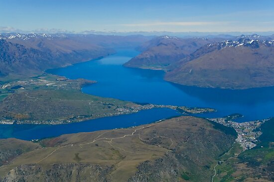 Lake Wakatipu 2 by Werner Padarin
