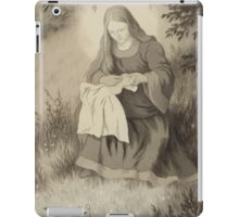 Theodor Kittelsen Jomfru maria og svalen Virgin Mary and swallow iPad Case/Skin