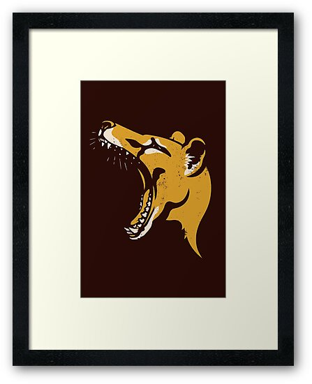 Tasmanian Tiger stencil by Richard Morden