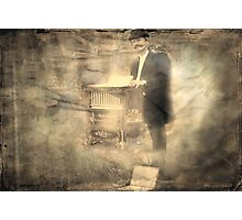 """The Organ Grinder ..."" Photographic Print"