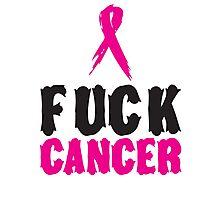 F*ck Cancer 1 Photographic Print
