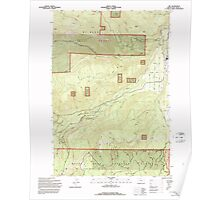 USGS Topo Map Oregon Dee 279593 1994 24000 Poster