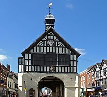 Bridgnorth Town Hall by Rod Johnson