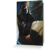 Mortal Kombat - Jingu Kitana Greeting Card