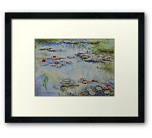 Waterlillies - after Monet Framed Print