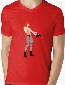 The Fifth Element LeeLoo Mens V-Neck T-Shirt