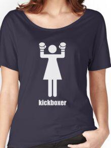 I kick ass Women's Relaxed Fit T-Shirt