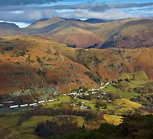 Lakeland views over Chapel Stile by Shaun Whiteman