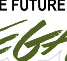 The Future Is VEGAN Sticker