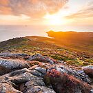 St David's Head, Pembrokeshire, South Wales. by Justin Foulkes