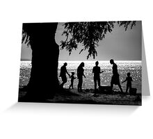 Afternoon At The Beach Greeting Card