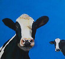 Devon cows by Jenny Urquhart