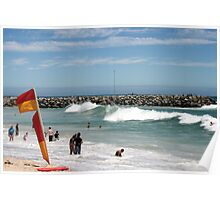 Storm Swell Approaching Poster