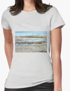 Landscape, Seascape, Great Escape Womens Fitted T-Shirt