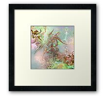 Synthetic Study 5 Framed Print