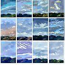 18 hill views by David  Kennett