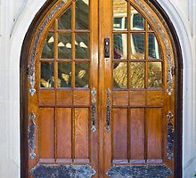 Distinguished Door by Trudy Wilkerson