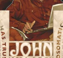 John Watson Art Nouveau Sticker