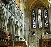 Truro Cathedral, Interior by Kathryn Jones