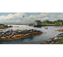 """Ebb-Tide--Prospect Bay, Nova Scotia"" Photographic Print"