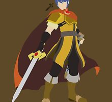 Marth (Gold) - Super Smash Bros. by samaran