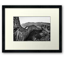 Great Wall - Beijing Framed Print