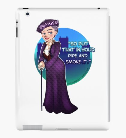Violet Crawley, the Dowager Countess of Grantham iPad Case/Skin