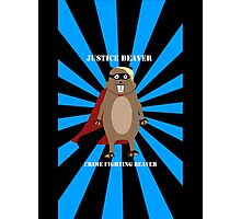 Justice Beaver Photographic Print