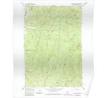 USGS Topo Map Oregon Limber Jim Creek 280594 1965 24000 Poster