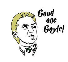 Good one Goyle! Photographic Print