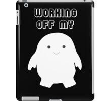 Doctor Who Working Off My Adipose  iPad Case/Skin