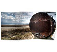 Water Storage Tank - Saint Jo Texas Poster