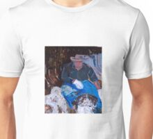 A man and his dogs . . . Melbourne, Vic, Australia Unisex T-Shirt