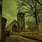 St Michael's And All Angels' Parish Church, Haworth by Sandra Cockayne