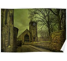 St Michael's And All Angels' Parish Church, Haworth Poster