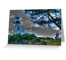 'Old' Point Loma Lighthouse Greeting Card
